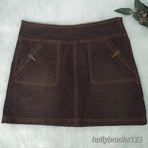 PrAna🌺corduroy skirt